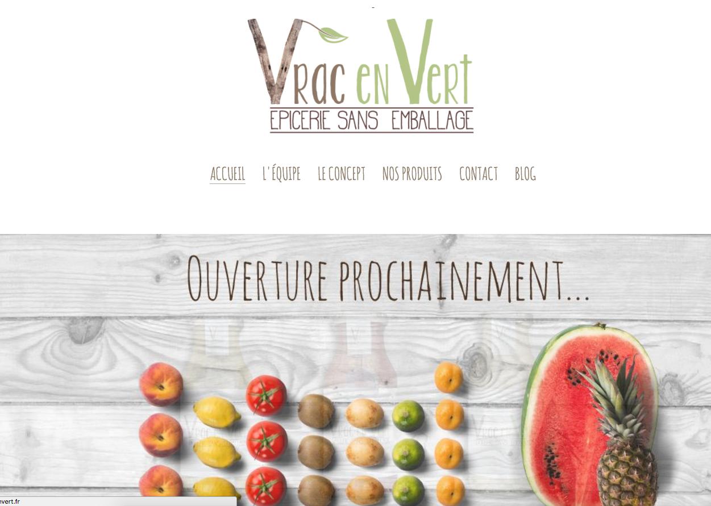 Revue De Presse – Ouverture De Vrac En Vert à Saint Etienne