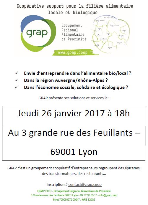 Réunion De Présentation De GRAP