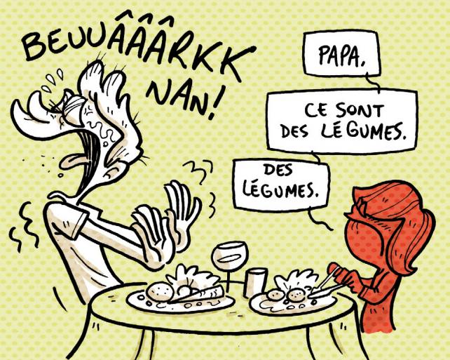 Papa Ce Sont Des Legumes