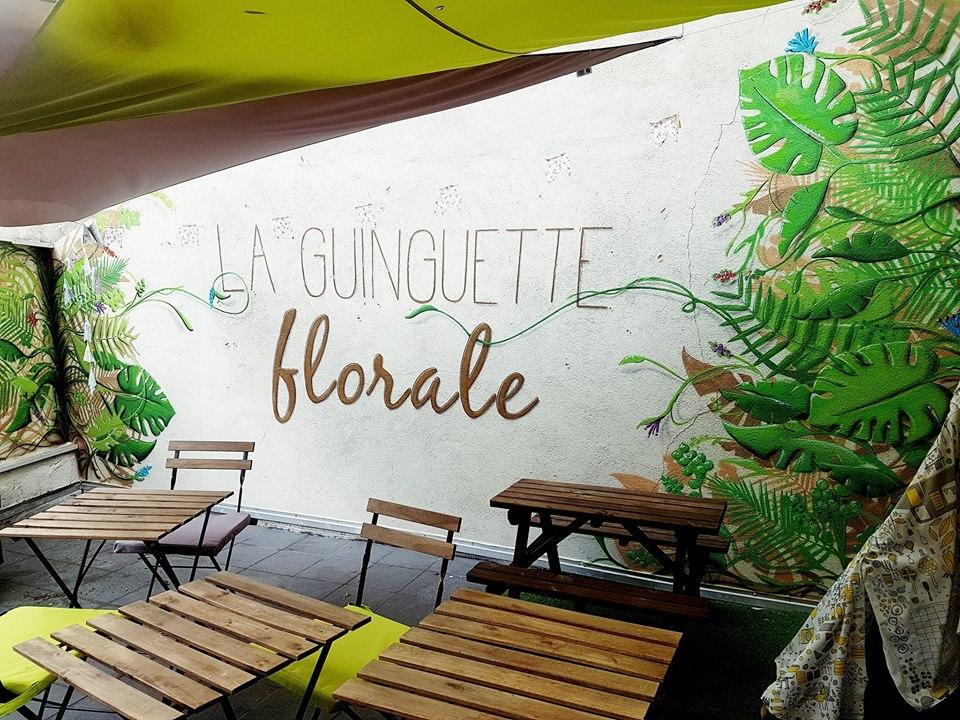 Guinguette Florale Chez Vrac En Vert – St Etienne