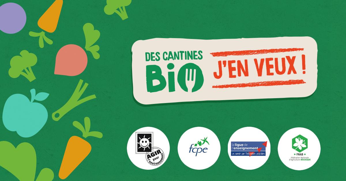 Signez Pour Plus De Bio Dans Les Cantines !
