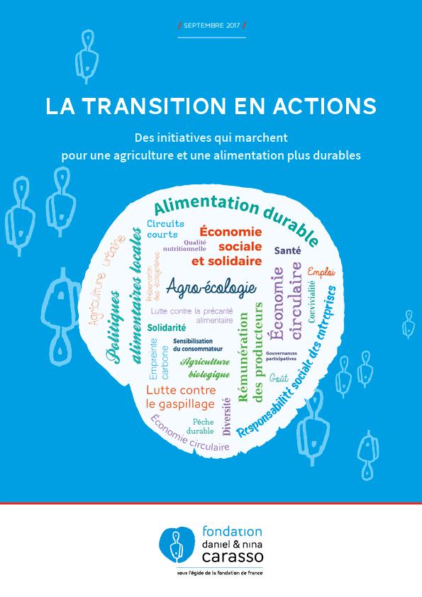 Le Recueil Des Initiatives De L'alimentation Et Agriculture Durable Soutenues Par La Fondation Carasso