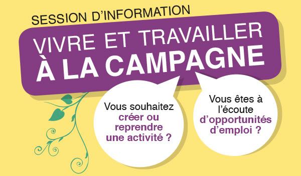 Session D'information «Vivre Et Travailler à La Campagne»
