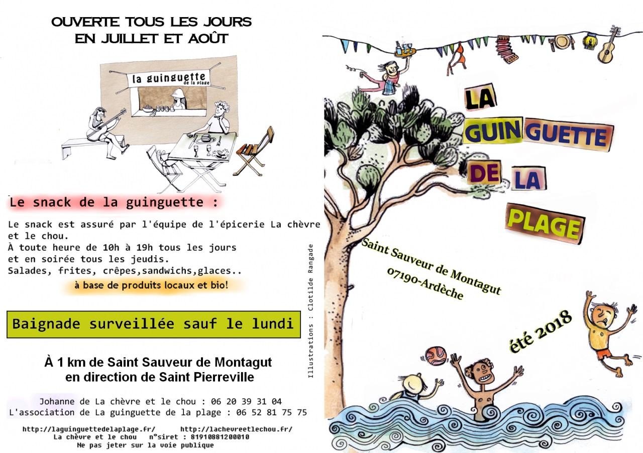 Programme De La Guinguette 2018 – La Chèvre Et Le Chou