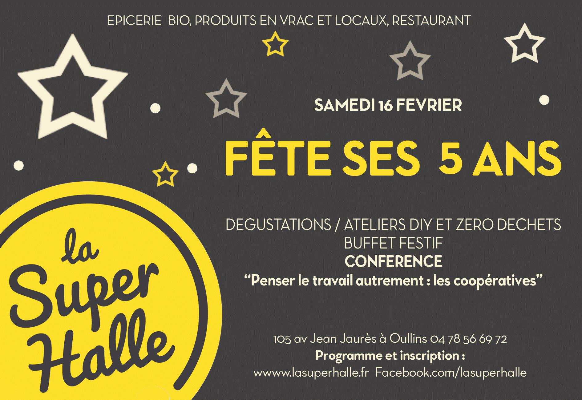 La Super Halle Fête Ses 5 Ans !