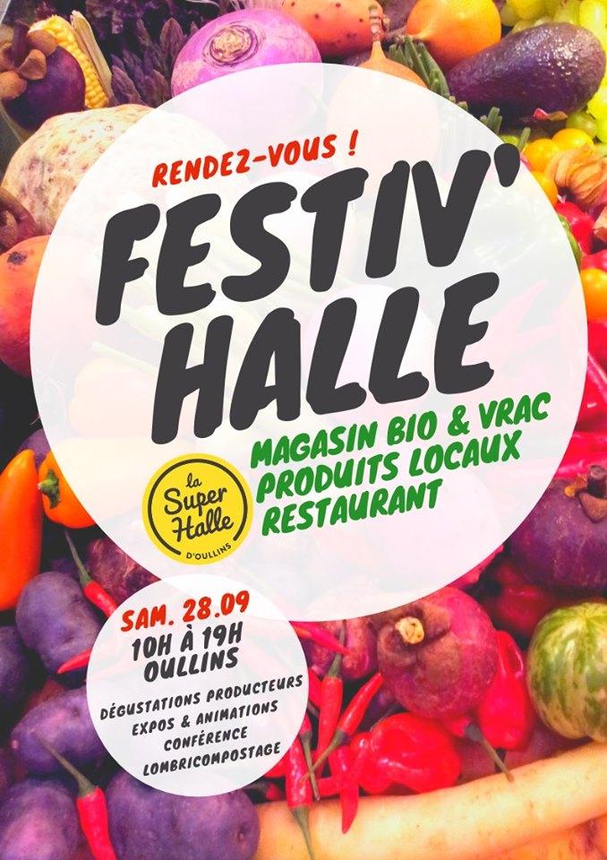 Festiv'halle, Le Rendez-vous Incontournable De La Super Halle – Samedi 28 Septembre