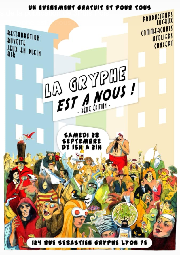 Événement La Gryphe Est à Nous – Samedi 28 Septembre
