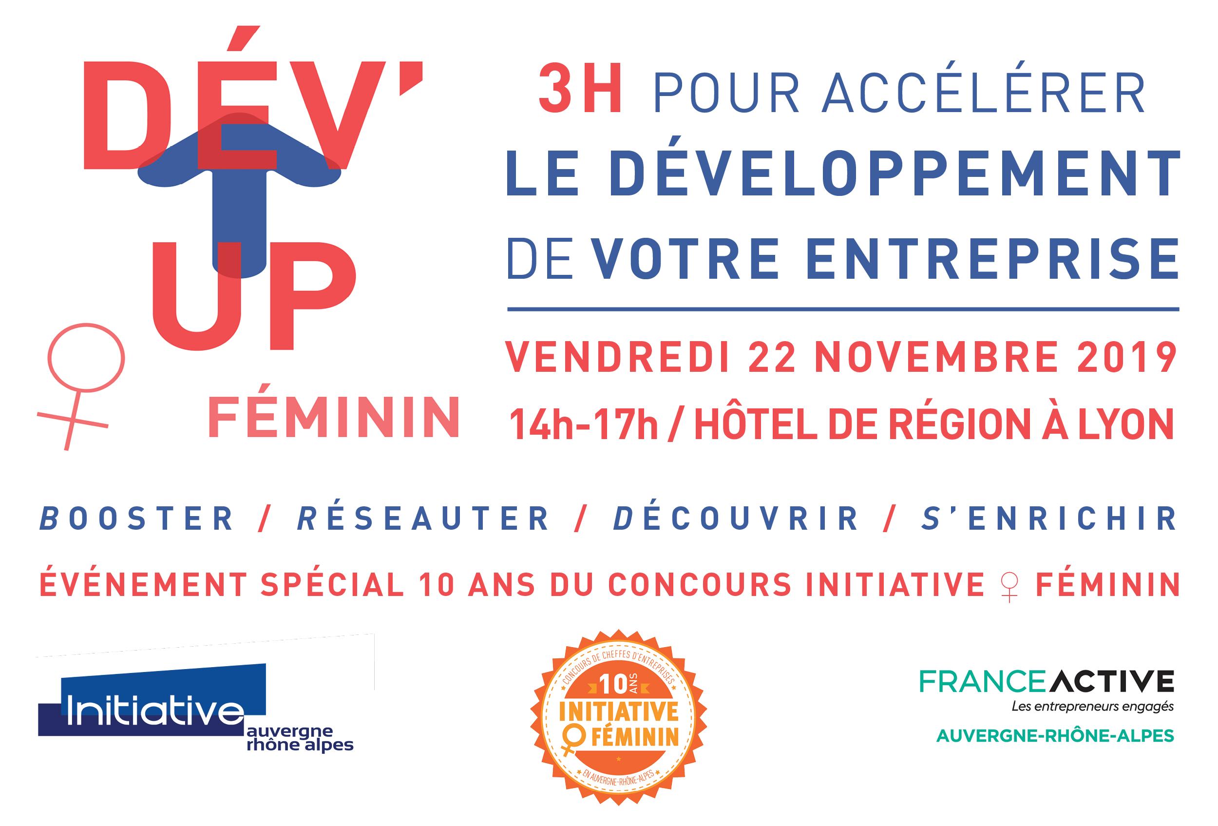 Rencontre 22/11 Entrepreneuriat Au Féminin à Lyon