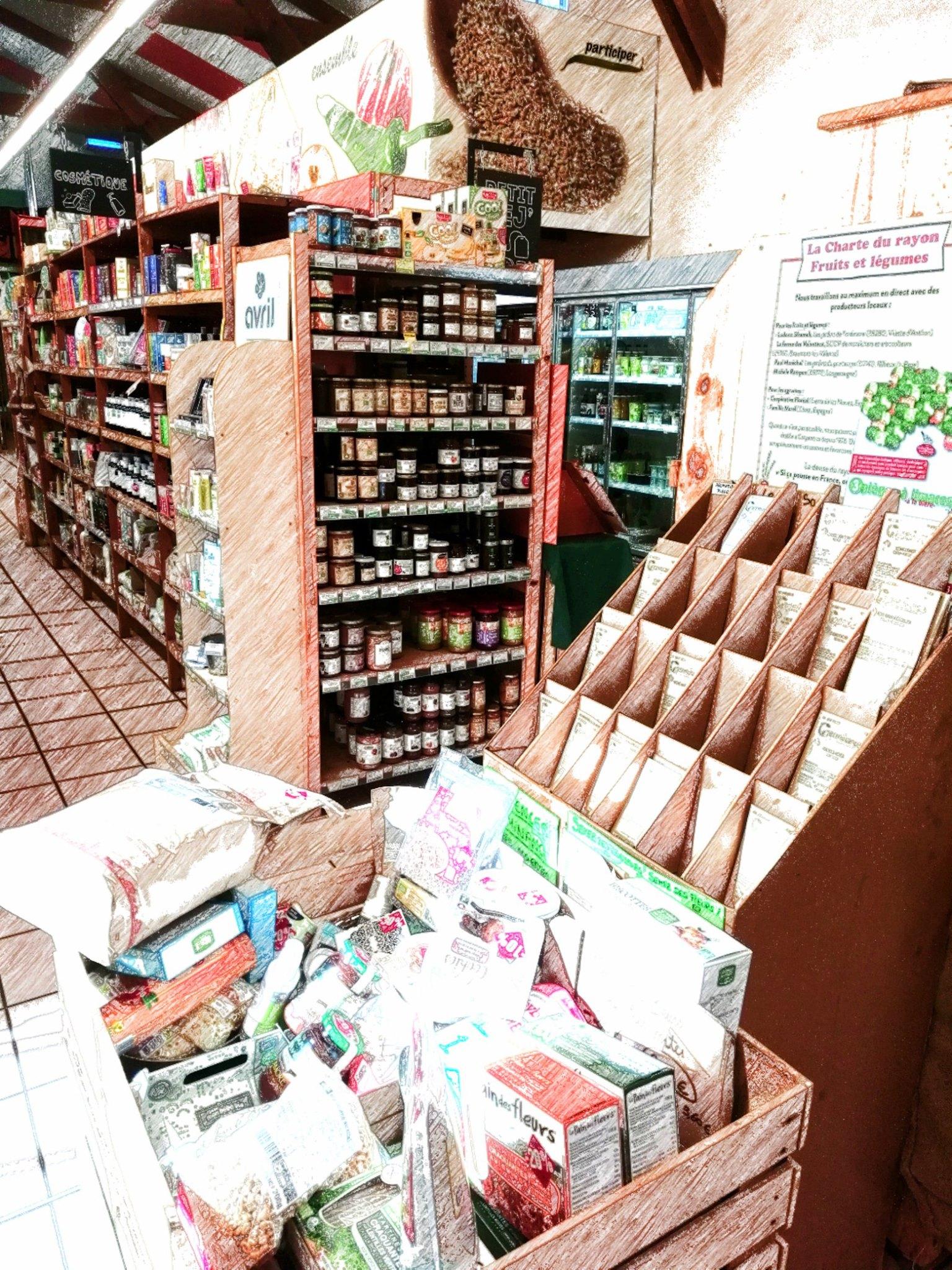 L'épicerie Prairial (Vaux-en-Velin, 69) Cherche Un.e Employé.e Polyvalent.e à Prairial En CDI 25h/sem