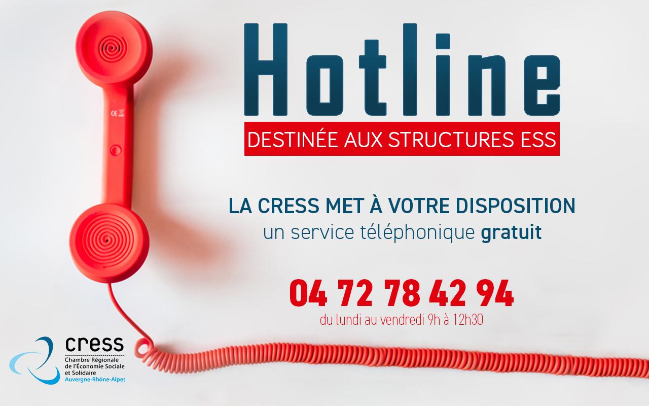Une Hotline Pour Identifier Les Aides, Dispositifs D'accompagnement Et Appels à Projets Pour La Relance économique Des Acteurs De L'ESS